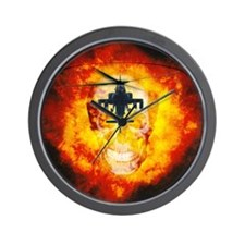 AH-64 Apache Wall Clock