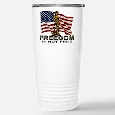 FREEDOM NOT FREE Travel Mug