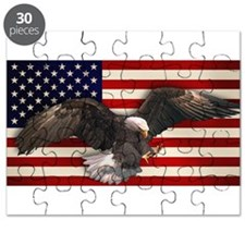 American Flag w/Eagle Puzzle