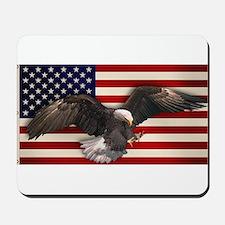 American Flag w/Eagle Mousepad