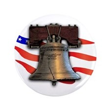 "Liberty Bell 3.5"" Button (100 pack)"