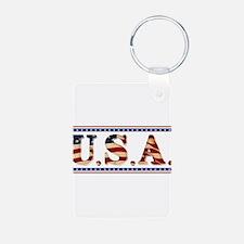 USA Stars/Strips Keychains