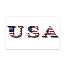 USA Car Magnet 20 x 12