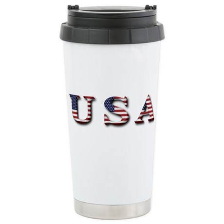 USA Stainless Steel Travel Mug