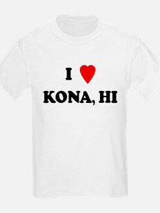 I Love Kona Kids T-Shirt