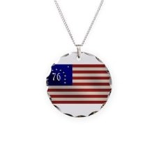 Bennington 1776 Flag Necklace