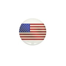 American Flag Mini Button (10 pack)