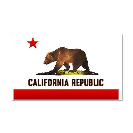 California Bear Car Magnet 20 x 12