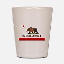 California Bear Shot Glass