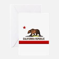 California Bear Greeting Card