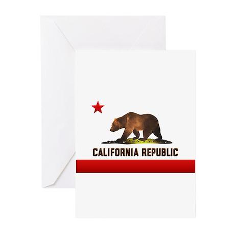 California Bear Greeting Cards (Pk of 10)