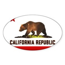California Bear Decal