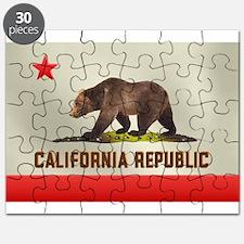 California Bear Flag Puzzle