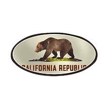 California Bear Flag Patches