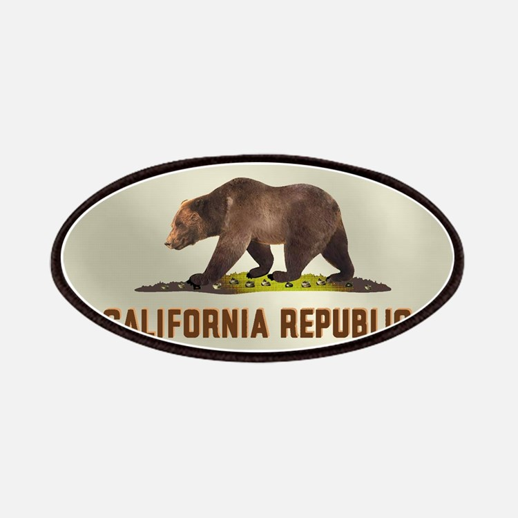 California Bear Flag Patches