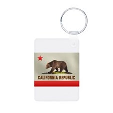 California Bear Flag Keychains