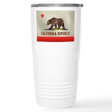 California Bear Flag Travel Mug