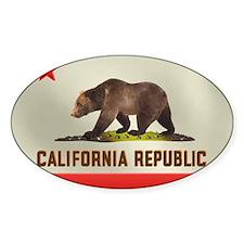 California Bear Flag Decal