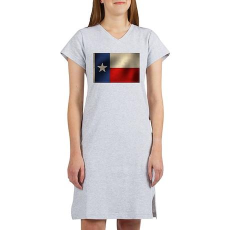 Texas State flag Women's Nightshirt
