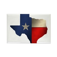 State of Texas Rectangle Magnet