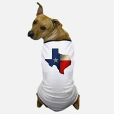 State of Texas Dog T-Shirt