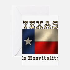 Texas Hospitality Greeting Card