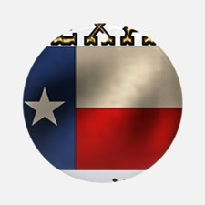 Texas Hospitality Ornament (Round)