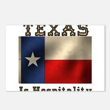 Texas Hospitality Postcards (Package of 8)