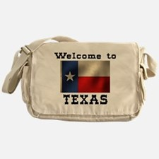 Welcome to Texas Messenger Bag