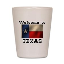 Welcome to Texas Shot Glass