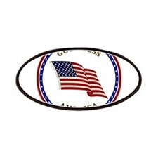 God Bless America Patches