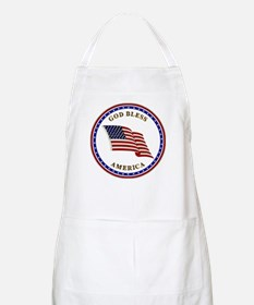 God Bless America Apron