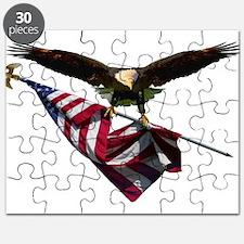 Eagle & Flag Puzzle