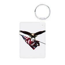 Eagle & Flag Keychains