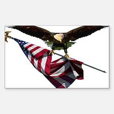 Eagle & Flag Decal