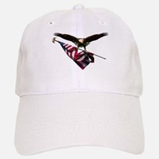 Eagle & Flag Baseball Baseball Cap
