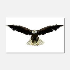 Cute American eagle Car Magnet 20 x 12