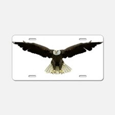 Unique Birding Aluminum License Plate