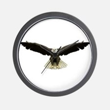 Funny American eagle Wall Clock