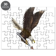 Cute Fighting eagle Puzzle