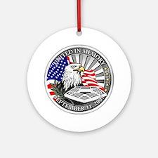 9/11 Memorial Ornament (Round)