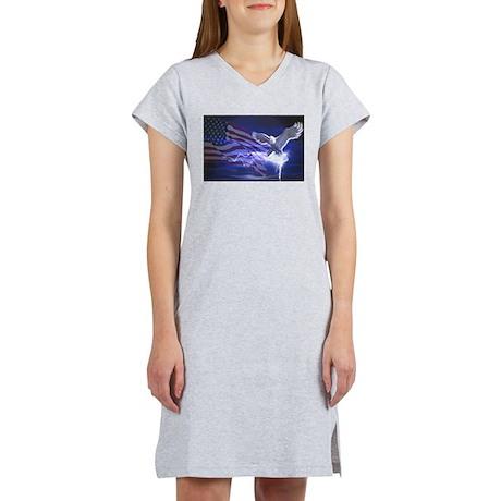 Eagle Storm Women's Nightshirt