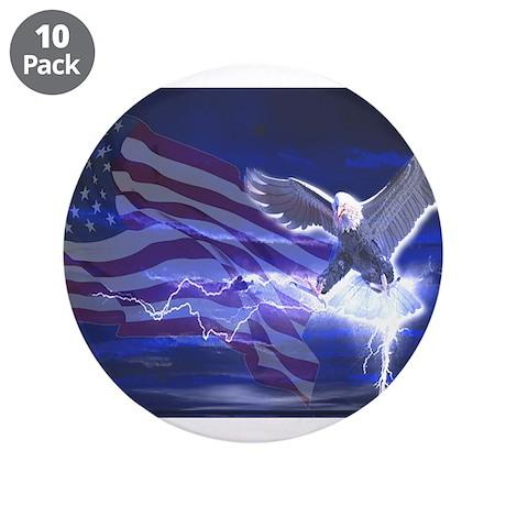 "Eagle Storm 3.5"" Button (10 pack)"