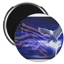 """Eagle Storm 2.25"""" Magnet (10 pack)"""