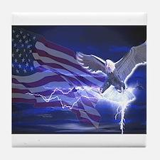 Eagle Storm Tile Coaster