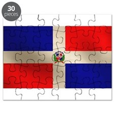 Dominican Flag Puzzle