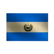 Salvadoran flag Rectangle Magnet