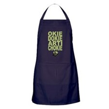 Okie Dokie Artichokie Apron (dark)