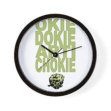 Okie Dokie Artichokie Wall Clock