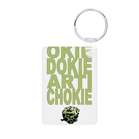 Okie Dokie Artichokie Aluminum Photo Keychain